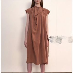 lemaire Silk dress